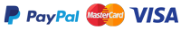 Pay with visa master card paypal