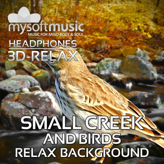 Small Creek And Birds 3D-RELAX
